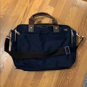 Jack Spade Laptop Bag (Navy Blue)